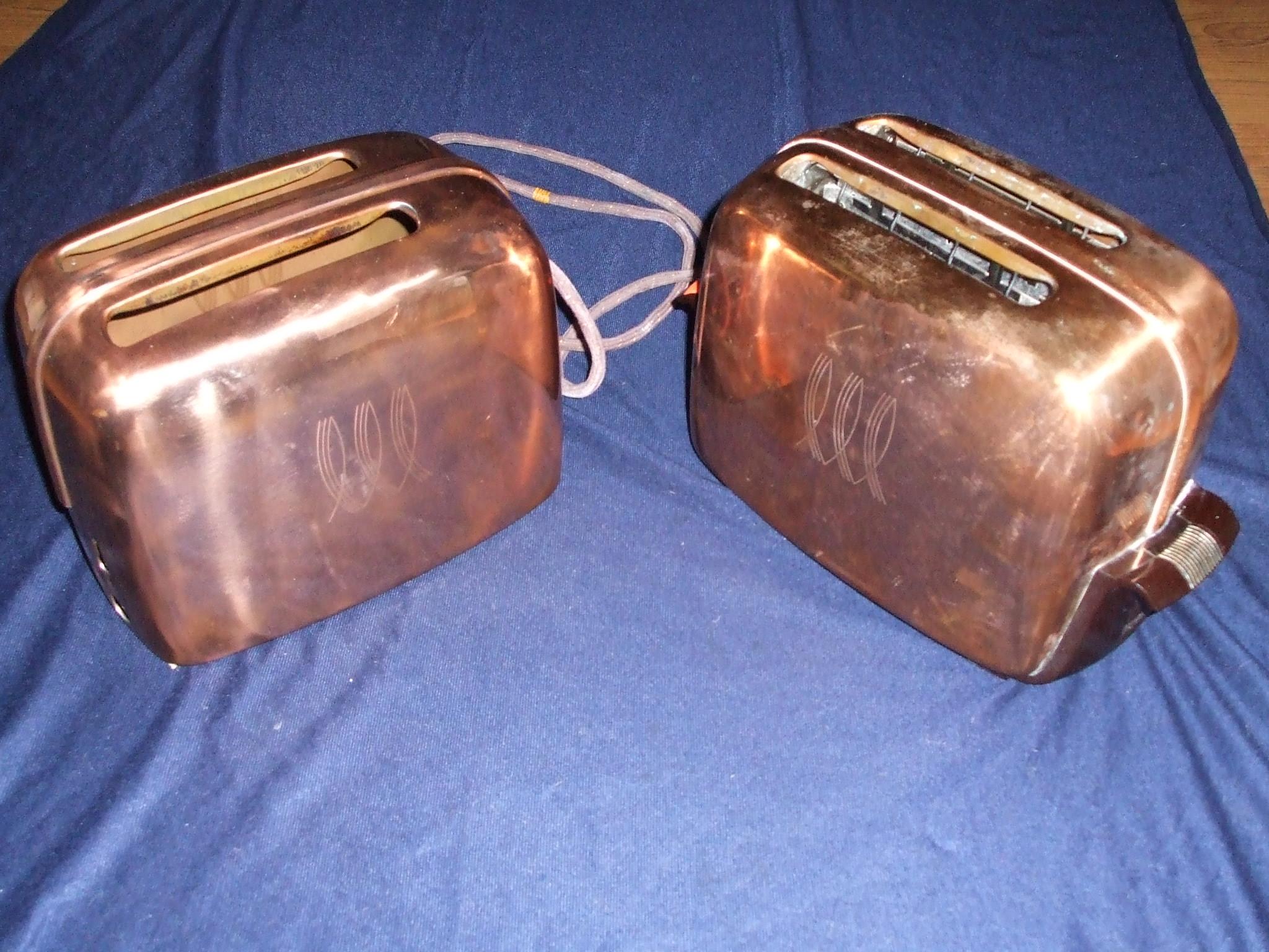 Antique Art Deco Toasters Etc